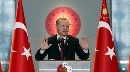 Erdoğan, terör saldırılarına tepkisizliği nedeniyle batı ülkelerini eleştirdi