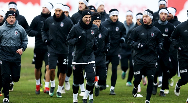 Beşiktaşta Osmanlıspor maçı hazırlıkları