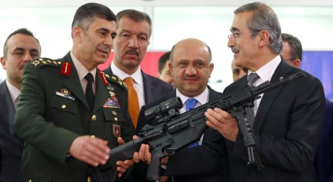 Milli Piyade Tüfeği TSKya teslim edildi