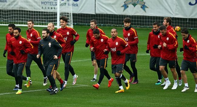 Galatasaray Atiker Konyaspor maçına hazırlanıyor