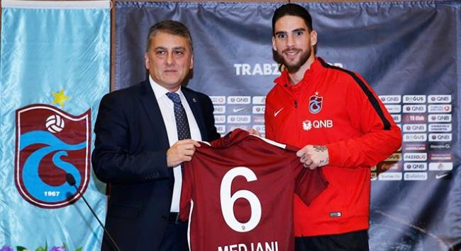 Medjani resmen Trabzonsporda