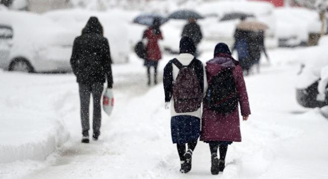 Edirnede kar tatili uzadı