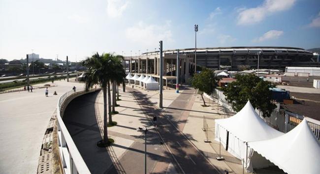Brezilyada Maracana Stadyumu yağmalandı