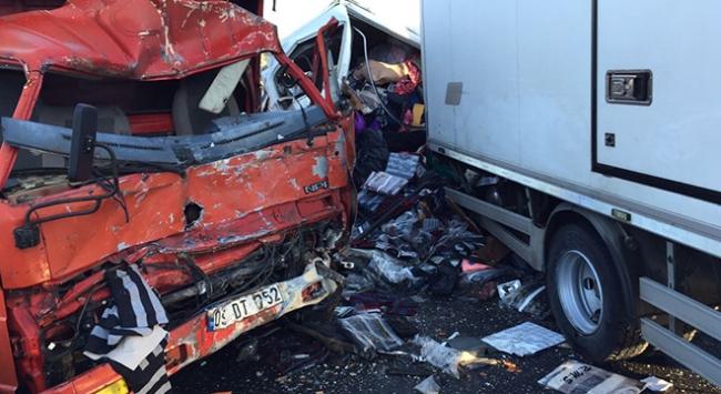 Muğlada zincirleme trafik kazası