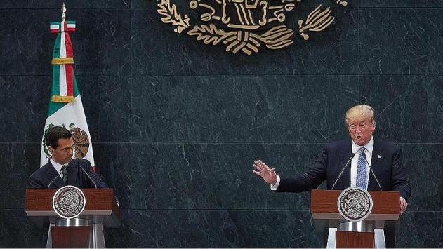 ABD-Meksika arasındaki duvar gerilimi