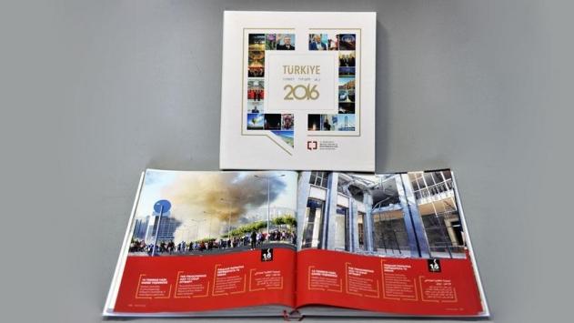 BYEGMden dört dilde Türkiye 2016 kitabı