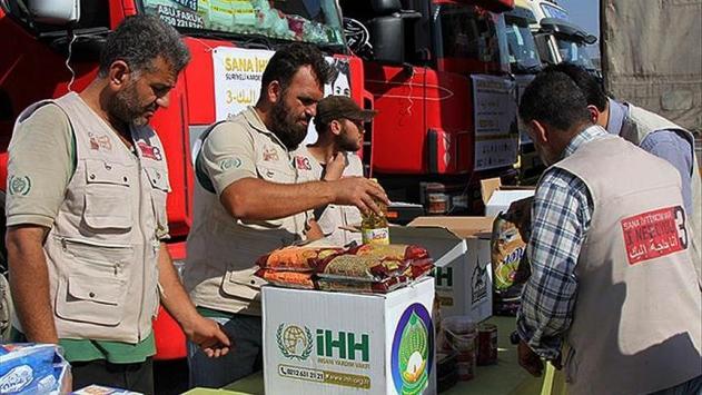 Türkiye Yemende 551 bin 300 kişiye yardım eli uzattı