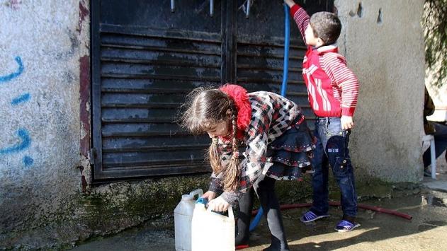 Esedin saldırıları Şamı susuz bıraktı