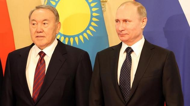 Putin ve Nazarbayev, Suriye görüşmelerini ele aldı
