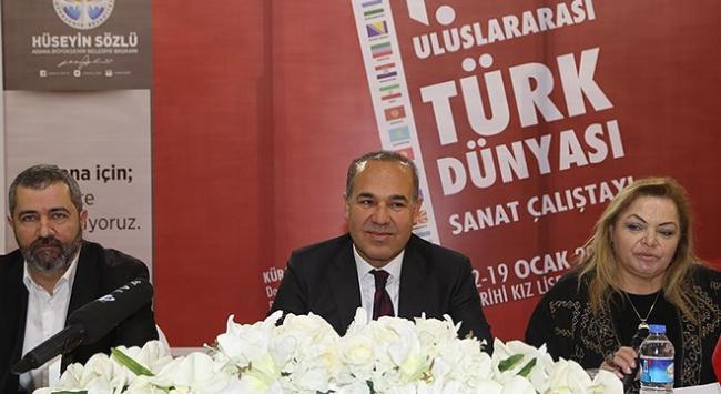 1. Uluslararası Türk Dünyası Sanat Çalıştayı başladı