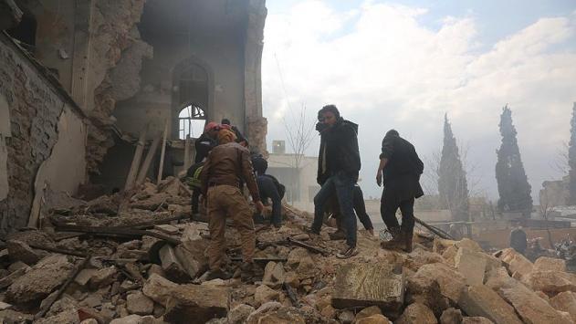 Rejim güçleri Halepi vurdu: 8 ölü, 11 yaralı