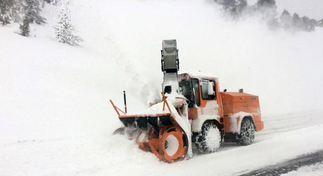 Konyada kar kalınlığı 3,5 metreyi buldu