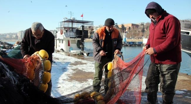 Balıkçıların buz esareti sona erdi