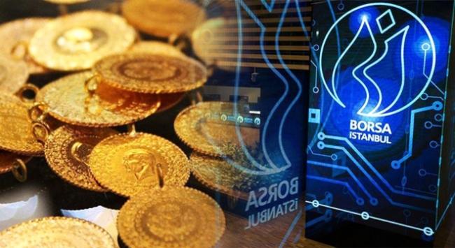 Altın düştü Borsa yükseldi