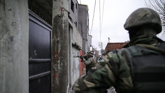 PKKya ait çok sayıda malzeme imha edildi