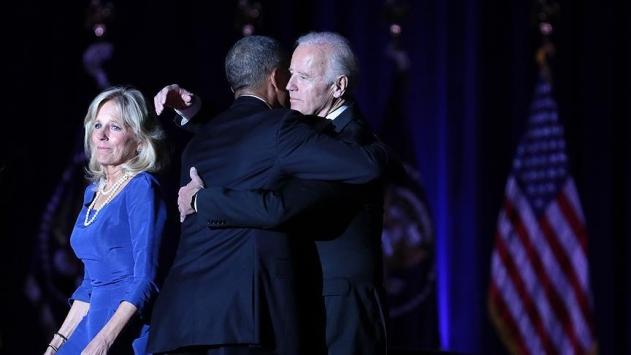 Obama Bidena ABDnin en yüksek madalyasını verdi