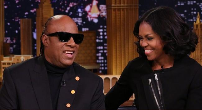 Caz sanatçısından Michelle Obamaya serenat