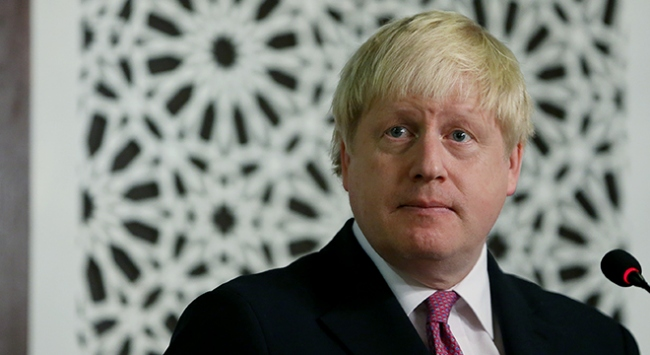 Bakan Johnson: Kıbrıs sürecinde kararlılık önemli