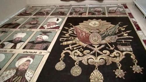 36 Osmanlı padişahını mozaikte buluşturdu