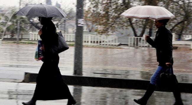 Egeye yağışlı hava uyarısı