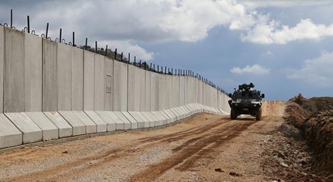 Suriye ve Irak sınırına 330 kilometre beton duvar