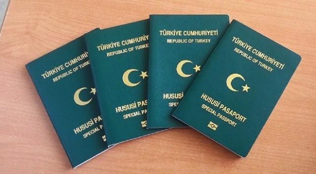 16-17 bin kişiye yeşil pasaport verilecek