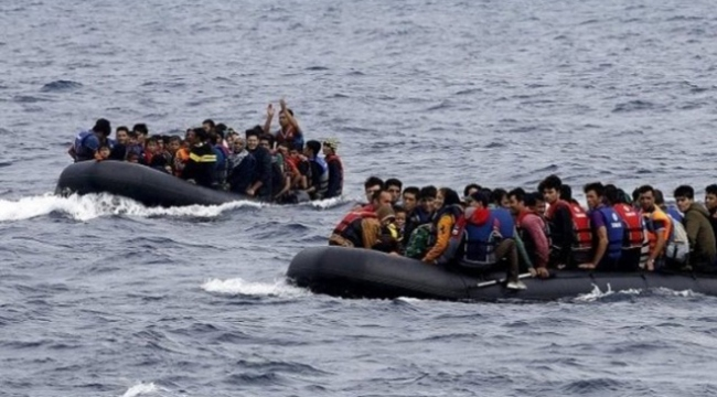 16 kaçak göçmen fotokapanlara takıldı