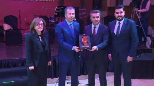 TRT Genel Müdürü Gökaya onur ödülü