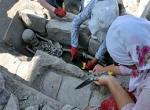 Bizans mezarları gün yüzüne çıktı