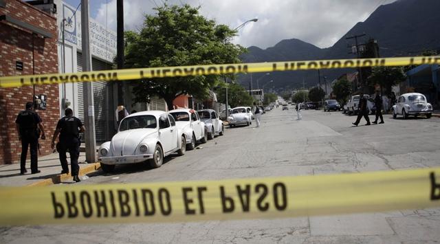 Meksikada Taksici Katliamı
