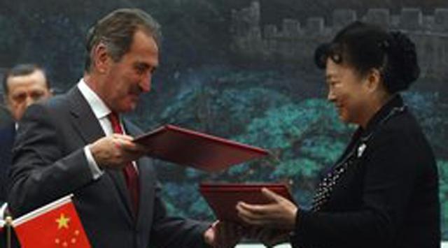 2013 Çinde Türk Yılı