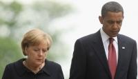 Obama İle Merkel 'Suriye'yi Görüştü