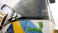 Yunanistan'da Şoförler Grevde