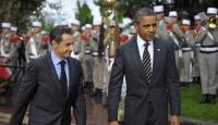 Obama ve Sarkozy Suriye'yi Görüştü