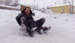 Kış en çok çocukları sevindirdi