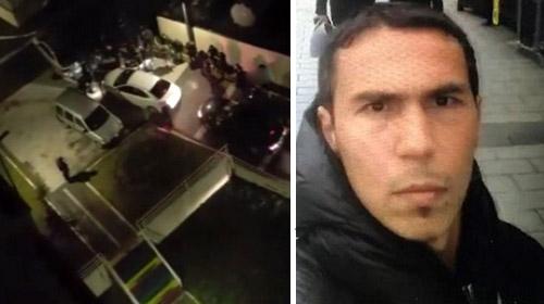 Reina saldırganının yakalanma anı kamerada