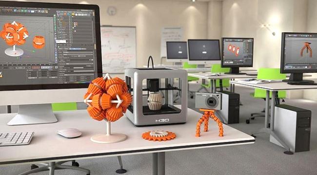 3D Yazıcı Merkezi kuruluyor