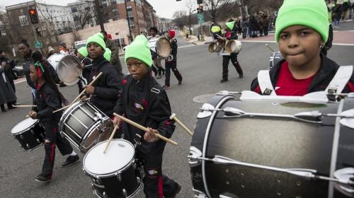 ABDliler Martin Luther Kingi anmak için yürüdü