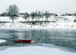 Tunca Nehri kısmen dondu