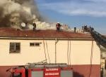 Şanlıurfada okulda yangın