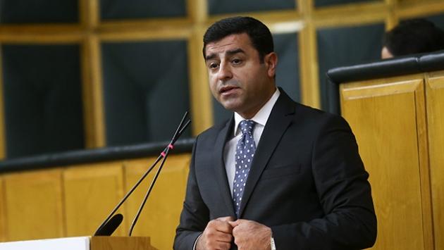 HDPnin Cumhurbaşkanı adayı Selahattin Demirtaş oldu