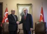Kılıçdaroğlu-Bahçeli görüşmesi