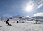 Çiçek snowboard ve rallinin en hızlısı olacak