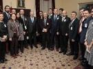 Başbakan Yıldırım Meclis'te medya temsilcileriyle görüştü