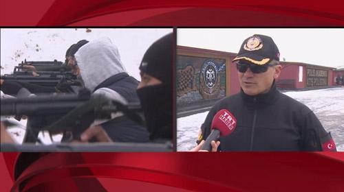 Polis adaylarının zorlu silah eğitimi