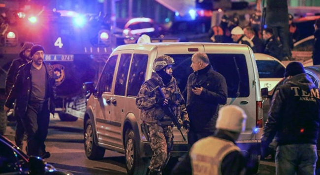 Karlov suikastine ilişkin 1 polise tutuklama