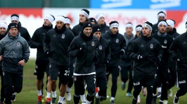 Beşiktaşta Aytemiz Alanyaspor maçına doğru