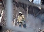 Tahranda 17 katlı iş yerinin çökmesi