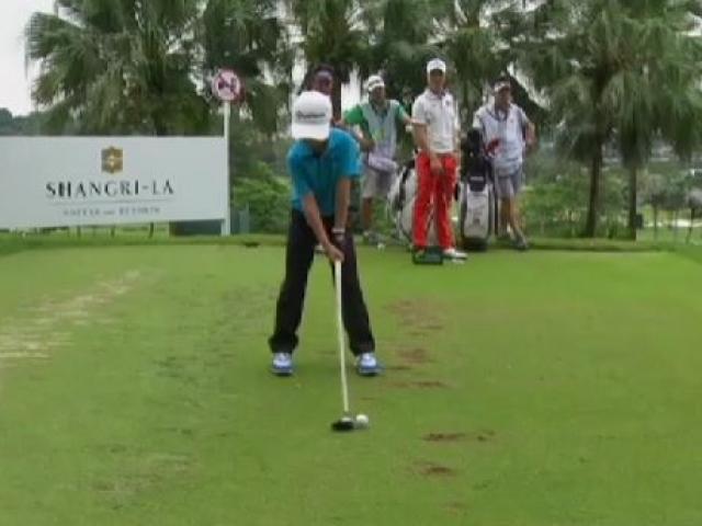 Küçük sporcunun golf kariyeri