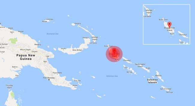 Papua Yeni Gine 7,9 ile sarsıldı